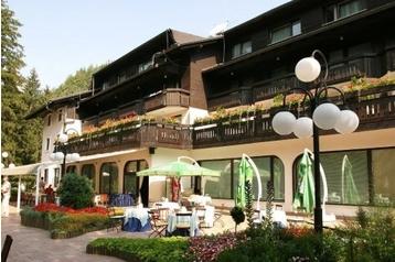 Slovinsko Hotel Bled, Exteriér
