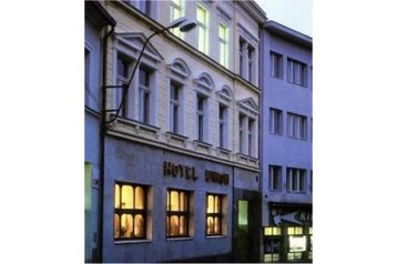Česko Hotel Louny, Exteriér