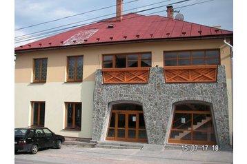 Slovacia Hotel Heľpa, Exteriorul