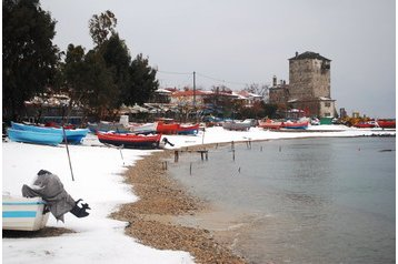Grèce Penzión Ouranoupoli, Extérieur