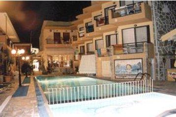 Řecko Hotel Sidari, Exteriér