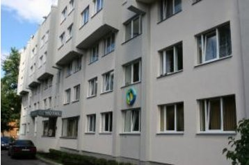 Łotwa Hotel Ryga / Rīga, Zewnątrz