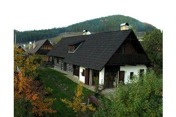 Slovensko Chata Čičmany, Čičmany, Exteriér