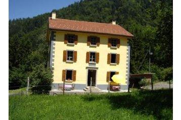 Švýcarsko Privát Frenières-sur-Bex, Exteriér