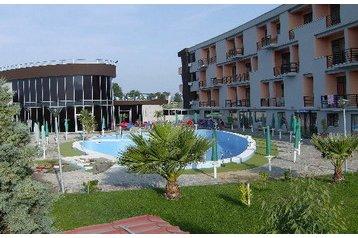 Albania Hotel Shëngjin, Exterior