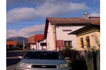 Slovensko Chata Pribylina, Exteriér