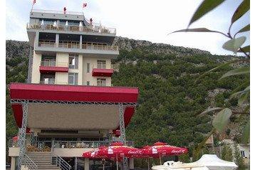 Albánsko Hotel Shëngjin, Exteriér