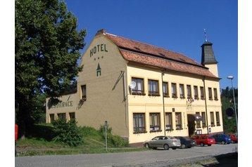 Česko Hotel Stříbro, Exteriér