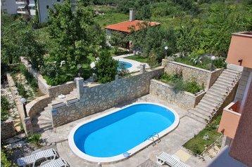 Chorvátsko Byt Makarska, Exteriér