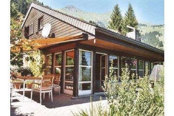 Švýcarsko Chata Frutigen, Exteriér
