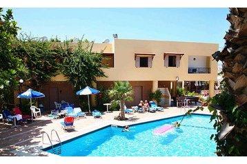 Grécko Hotel Stalida, Exteriér