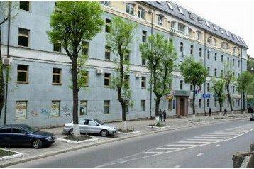Ukrajina Hotel Ľviv, Ľvov, Exteriér