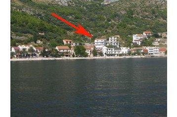 Chorvátsko Privát Brist, Exteriér
