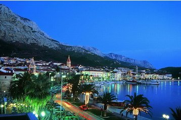 Chorvátsko Penzión Makarska, Exteriér