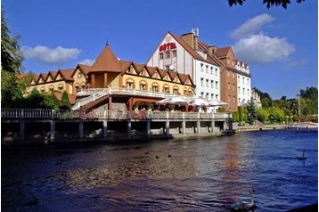 Polsko Hotel Pisz, Exteriér