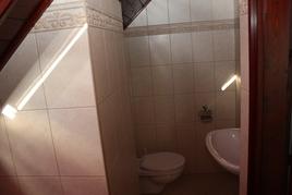 Fürdőszoba+ Wc emeleten