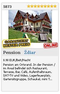 Limba.com - Ždiar, Pension, Unterkunft 5873