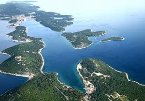 Ostrovy Chorvátska