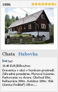Chata 1886 Habovka - Orava