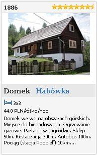 Habówka   Domek  1886