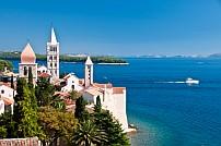 Rab szigete Horvátország