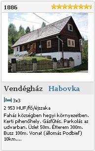 Habovka   Vendégház  1886