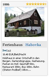 Ferienhaus 1886 Habovka - Orava