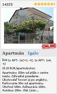 Limba.com - Igalo, Byt, Ubytovanie 14223