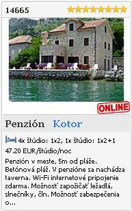 Limba.com - Kotor, Penzión, Ubytovanie 14665