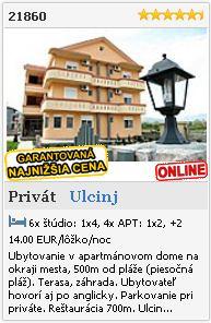 Limba.com - Ulcinj, Privát, Ubytovanie 21860