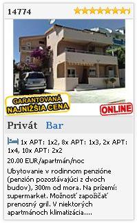Limba.com - Bar, Privát, Ubytovanie 14774