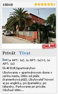 Limba.com - Tivat, Privát, Ubytovanie 18048