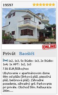 Limba.com - Baošići, Privát, Ubytovanie 19597