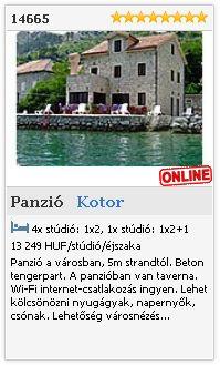 Limba.com - Kotor, Panzió, Szállás 14665