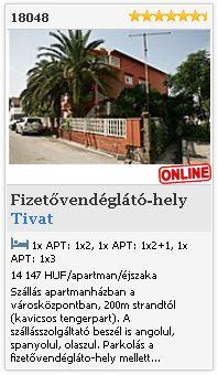 Limba.com - Tivat, Fizetővendéglátó-hely, Szállás 18048