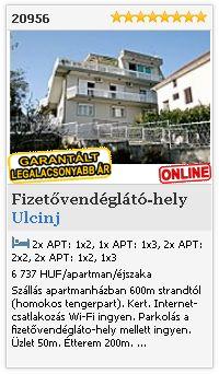 Limba.com - Ulcinj, Fizetővendéglátó-hely, Szállás 20956