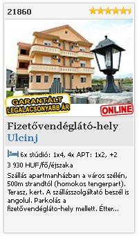 Limba.com - Ulcinj, Fizetővendéglátó-hely, Szállás 21860