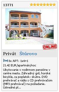 Limba.com - Štúrovo, Privát, Ubytovanie 13771