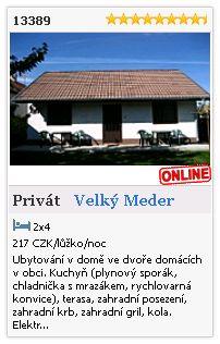 Limba.com - Velký Meder, Privát, Ubytování 13389
