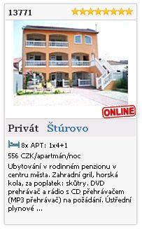 Limba.com - Štúrovo, Privát, Ubytování 13771
