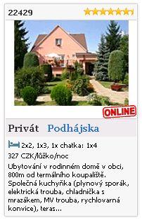 Limba.com - Podhájska, Privát, Ubytování 22429