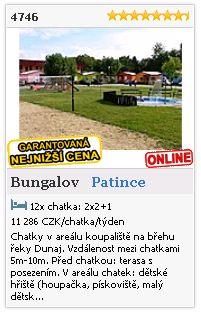 Limba.com - Patince, Bungalov, Ubytování 4746