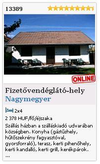 Limba.com - Nagymegyer, Fizetővendéglátó-hely, Szállás 13389