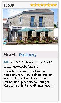 Limba.com - Párkány, Hotel, Szállás 17580