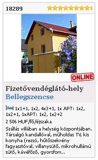 Limba.com - Bellegszencse, Fizetővendéglátó-hely, Szállás 18289