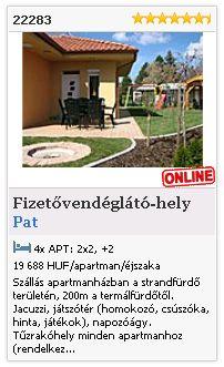 Limba.com - Pat, Fizetővendéglátó-hely, Szállás 22283