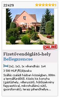 Limba.com - Bellegszencse, Fizetővendéglátó-hely, Szállás 22429