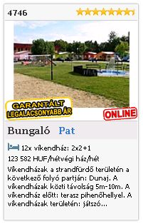 Limba.com - Pat, Bungaló, Szállás 4746