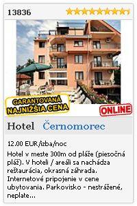 Limba.com - Černomorec, Hotel, Ubytovanie 13836