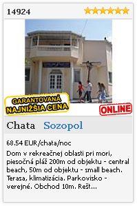 Limba.com - Sozopol, Chata, Ubytovanie 14924